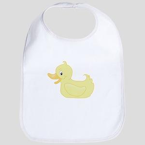 Yellow duck Bib