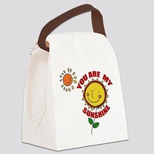 sunshine Canvas Lunch Bag