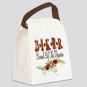 BIKERgrungePASSION copy Canvas Lunch Bag