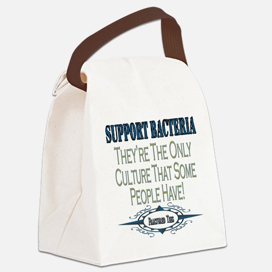 SupportBacteria copy.png Canvas Lunch Bag