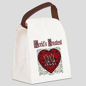 GreatestFracturedNana Canvas Lunch Bag