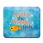 Sparky the Wonderfish Mousepad