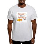 Sparky the Wonderfish Ash Grey T-Shirt