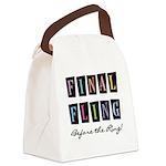 MULTICOLOREDFINALFLING Canvas Lunch Bag