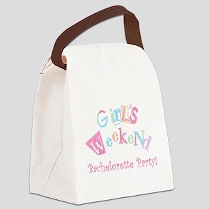 girlsweekendimageth Canvas Lunch Bag