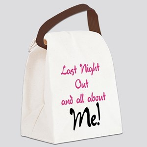 All About Me Bachelorette Canvas Lunch Bag