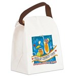 girlsniteoutbachbashtropical Canvas Lunch Bag