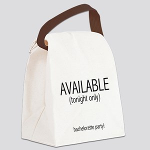 availabletonightonly Canvas Lunch Bag