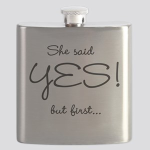 ISAIDYESPARTYFRONT Flask