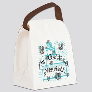 CAKEGETTINGMARRIED Canvas Lunch Bag