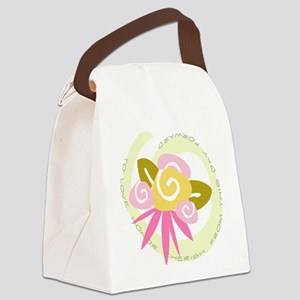 BOUQUETWEDDINGBRIDE Canvas Lunch Bag