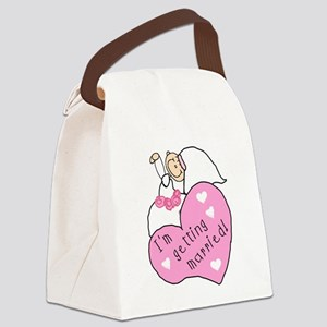 gettingmarriedgirltee Canvas Lunch Bag