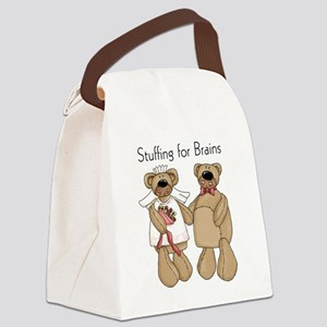 stuffingbrainswed Canvas Lunch Bag