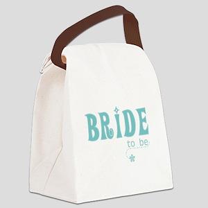 cutebridetealtobe Canvas Lunch Bag