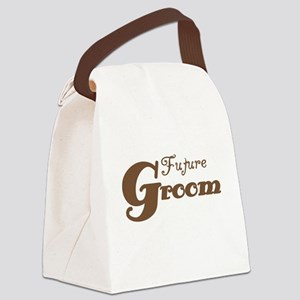 browngroomteeafuture Canvas Lunch Bag
