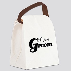 blackgroomhteefuture Canvas Lunch Bag