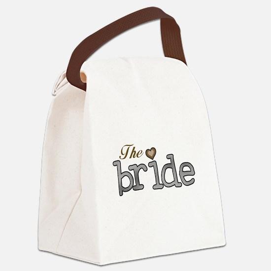 SILVERGOLDBRIDE.png Canvas Lunch Bag