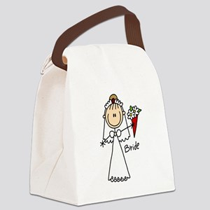 wedstickfigure5 Canvas Lunch Bag
