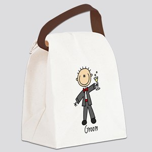 wedstickfigure4 Canvas Lunch Bag