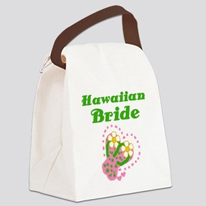 HAWAIIANBRIDEAA Canvas Lunch Bag