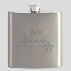 juniorbridesmaidteal Flask