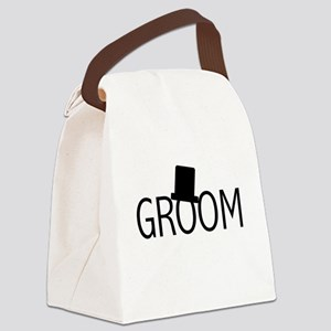 blacktextgroomtae Canvas Lunch Bag