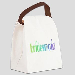 RAINBOWBRIDESMAID Canvas Lunch Bag