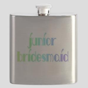 RAINBOWJRBRIDESMAID Flask