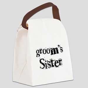 crazygroomsister Canvas Lunch Bag