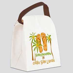 cabosanlucashone Canvas Lunch Bag
