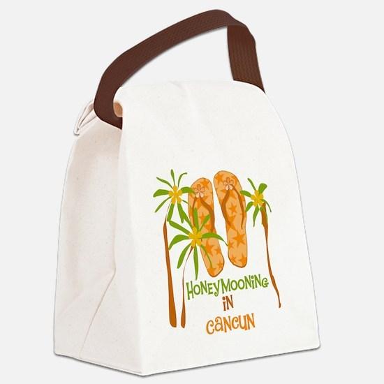 fliphmoooncancun.png Canvas Lunch Bag