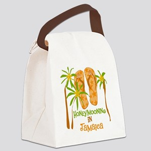 fliphmooonjamaica Canvas Lunch Bag