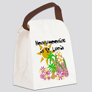 honeymonstlucia Canvas Lunch Bag