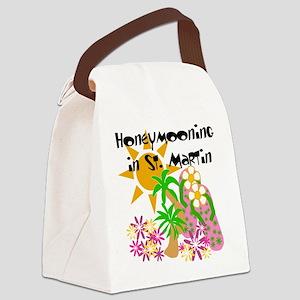 honeymoonstmartin Canvas Lunch Bag