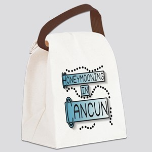 Bhoneymoonincancun Canvas Lunch Bag