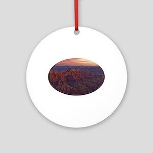 Bright Angel Sunset Ornament (Round)