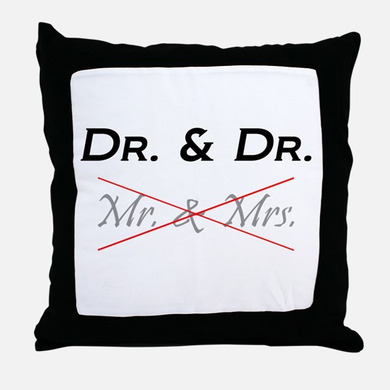 Cute Dr Throw Pillow