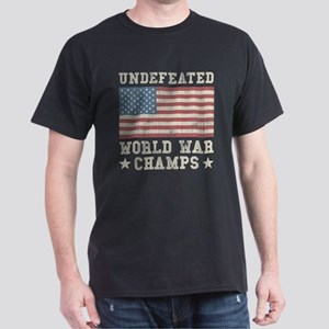 Undefeated World War Champs Dark T-Shirt