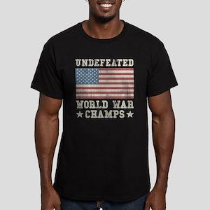 Undefeated World War C Men's Fitted T-Shirt (dark)