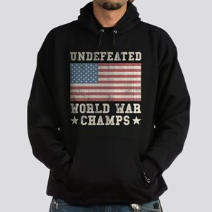 Undefeated World War Champs Hoodie (dark)