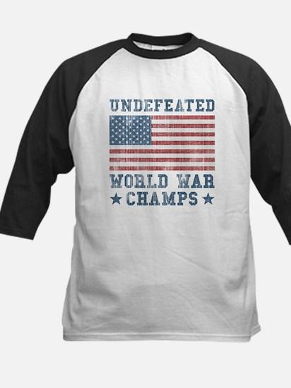 Undefeated World War Champs Kids Baseball Jersey