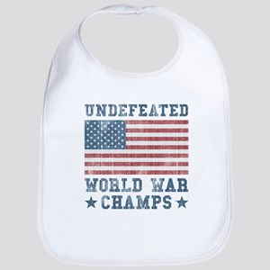 Undefeated World War Champs Bib