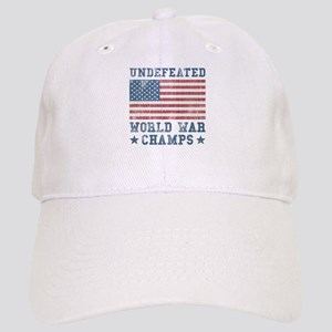 Undefeated World War Champs Cap