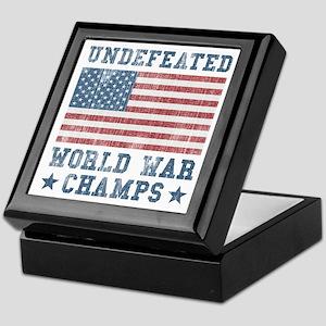 Undefeated World War Champs Keepsake Box