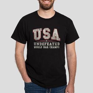 V. USA World War Champs Dark T-Shirt