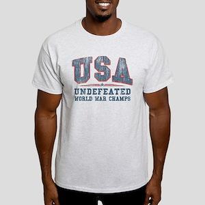 V. USA World War Champs Light T-Shirt