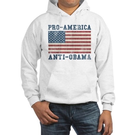 V. Pro-America Anti-Obama Hooded Sweatshirt