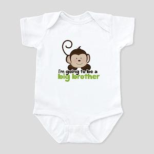 Big Brother Pop Monkey Design Infant Bodysuit