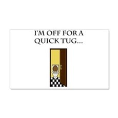 I'm off for a tug Wall Decal