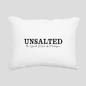 Michigan UNSALTED Rectangular Canvas Pillow